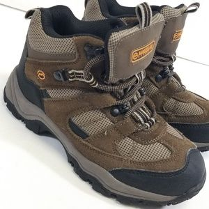 Magellan Boys Outdoor 4 Boots Leather Hiking Shoes